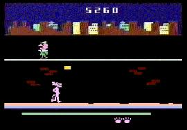 Pursuit of the Pink Panther per Atari 2600