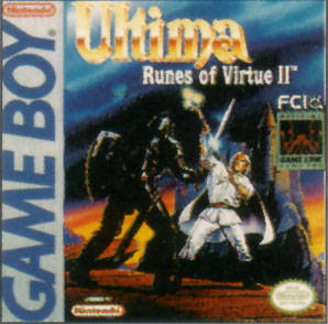 Ultima: Runes of Virtue II per Game Boy