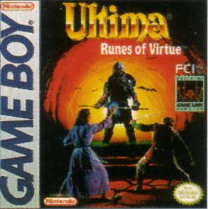 Ultima: Runes of Virtue per Game Boy