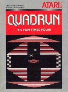 Quadrun per Atari 2600