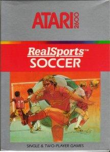 Realsports Soccer per Atari 2600