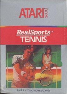 Realsports Tennis per Atari 2600