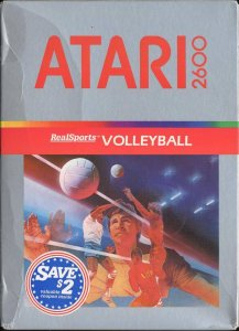 Realsports Volleyball per Atari 2600