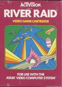 River Raid per Atari 2600