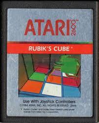 Rubik's Cube per Atari 2600
