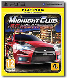 Midnight Club: Los Angeles per PlayStation 3