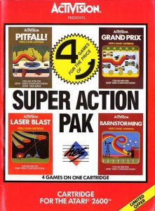 Super Action Pack per Atari 2600