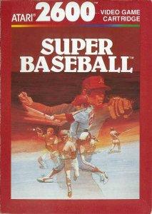 Super Baseball per Atari 2600
