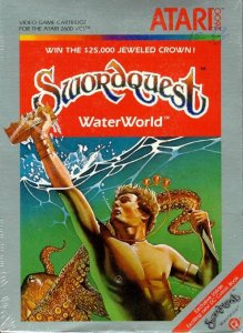 Swordquest: Waterworld per Atari 2600