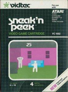 Sneak 'N Peek per Atari 2600