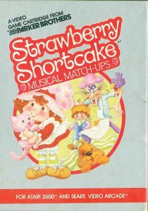 Strawberry Shortcake: Musical Match-ups per Atari 2600