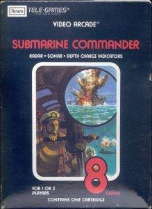 Submarine Commander per Atari 2600