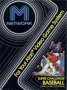 Super Challenge Baseball per Atari 2600