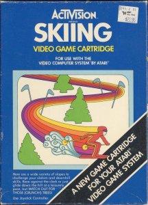Skiing per Atari 2600