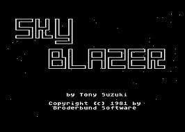 Sky Blazer per Atari 2600