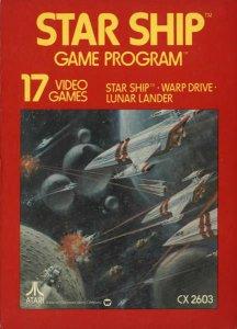 Star Ship per Atari 2600
