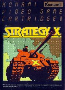 Strategy X per Atari 2600