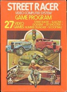 Street Racer per Atari 2600