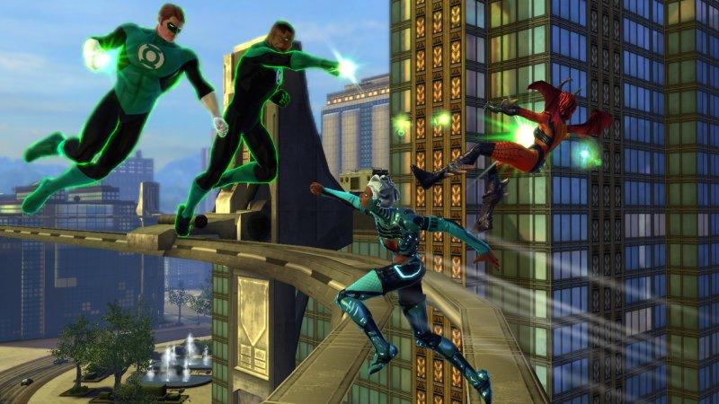 DC Universe Online, le Lanterne Verdi arrivano via DLC