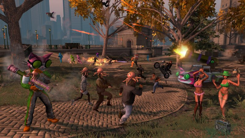 Saints Row: The Third, la recensione per Switch