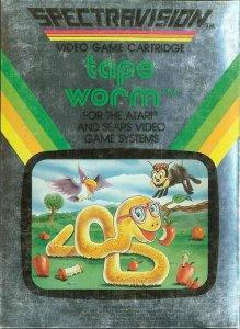 Tape Worm per Atari 2600