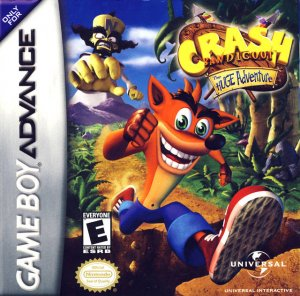 Crash Bandicoot: The Huge Adventure per Game Boy Advance