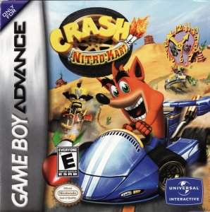 Crash Nitro Kart per Game Boy Advance