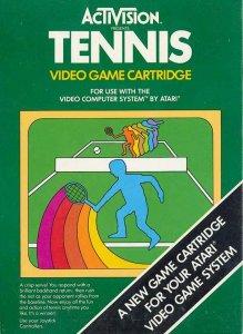 Tennis per Atari 2600