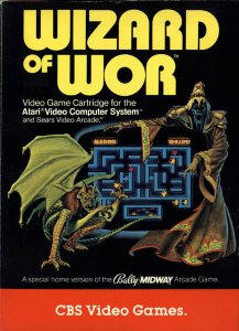 Wizard of Wor per Atari 2600
