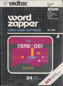 Word Zapper per Atari 2600