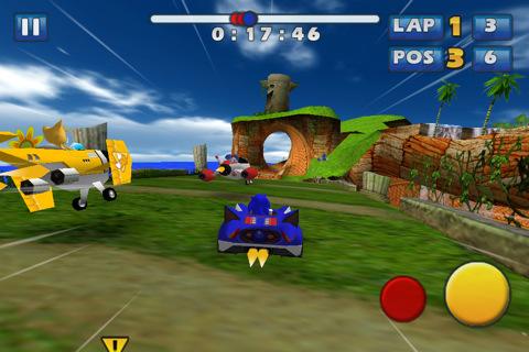 Le corse tascabili di Sonic