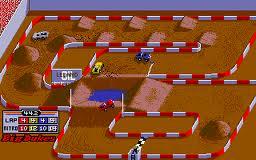 """Ivan """"Iron Man"""" Stewart's Super Off Road per Atari Lynx"""