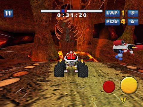 Sonic & SEGA All-Stars Racing gratuito su App Store