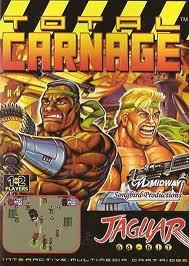 Total Carnage per Atari Jaguar