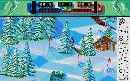 Advanced Ski Simulator per Atari ST