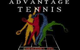 Advantage Tennis per Atari ST