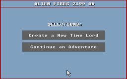 Alien Fires 2199 A.D per Atari ST