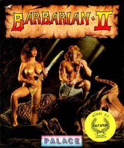Barbarian 2 per Atari ST