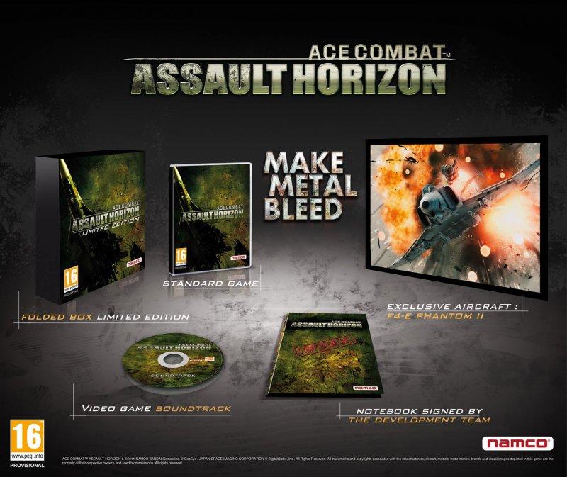 Svelata la Limited Edition di Ace Combat: Assault Horizon