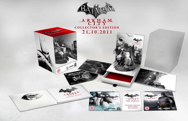 Un'edizione da collezione per Batman: Arkham City