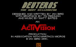 Deuteros: The Next Millenium per Atari ST