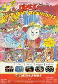 Dizzy's Excellent Adventures per Atari ST