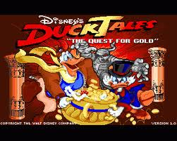 Duck Tales: The Quest for Gold per Atari ST