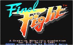 Final Fight per Atari ST