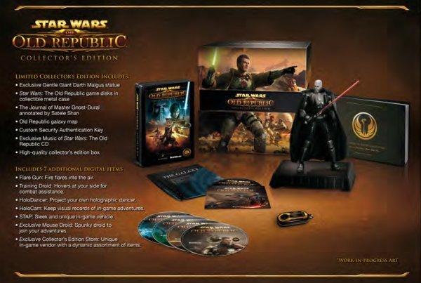 SW: The Old Republic - un'immagine della collector edition