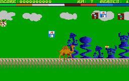 Return of the Mutant Camels per Atari ST