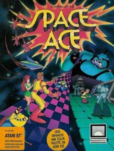 Space Ace per Atari ST