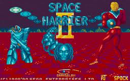 Space Harrier II per Atari ST
