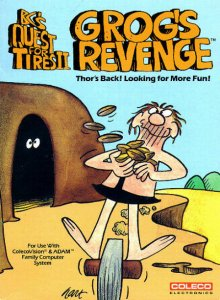 BC's Quest for Tires II: Grog's Revenge per ColecoVision