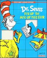 Dr. Seuss' Fix-Up the Mix-Up Puzzler per ColecoVision